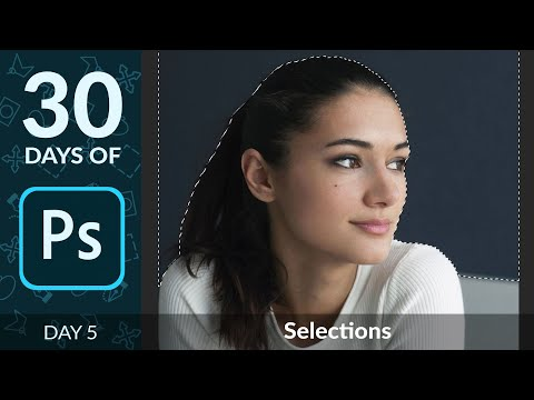 How To Create Selections In Photoshop | Day 5