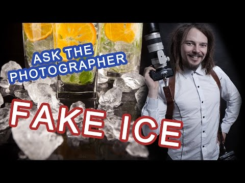 🔴 Fake ice - photography prop - why it can be useful?