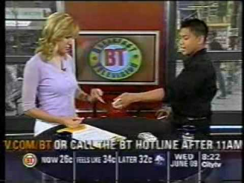 Ray Chance - Archive - Breakfast Television 2004
