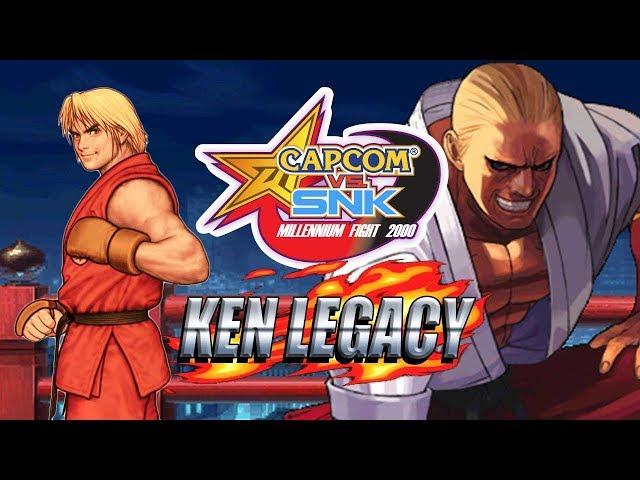 CROSSOVER OF THE MILLENNIUM: Ken Legacy - Capcom Vs. SNK 2000