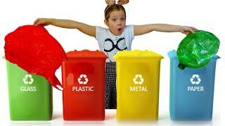 Лера и мама - история про сортировку мусора
