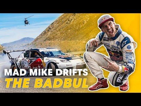Mad Mike Drifts BADBUL Around the...