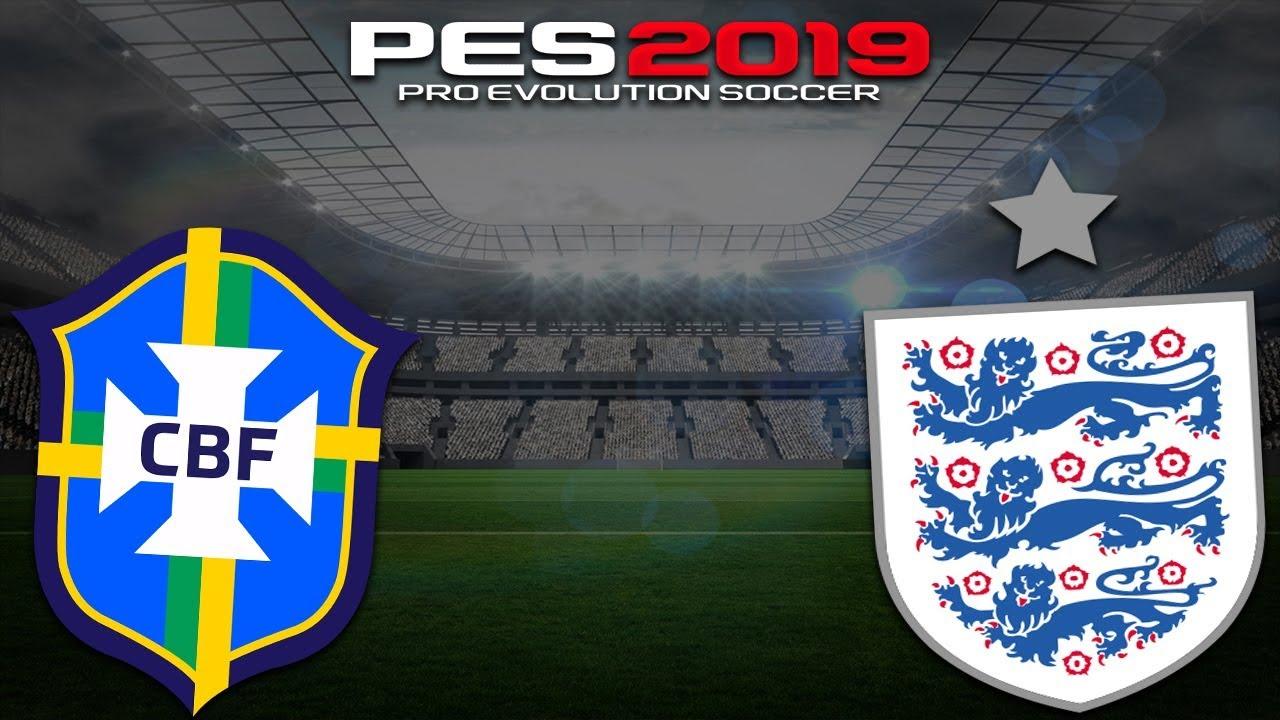 PES 2019   Brasil x Inglaterra   Amistoso da Seleção!