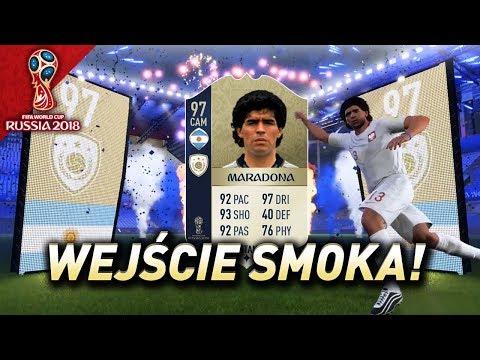 FIFA 18 WC - Dwie ikony na start! Taki to pożyje!