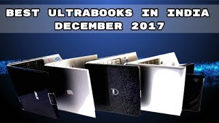 Best Ultrabooks in India December 2017