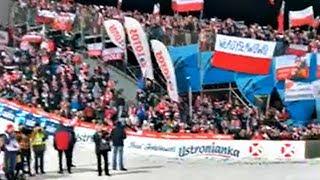 Tysiące Polaków zaśpiewało hymn przy Niemcach i Austriakach po wygranej w Wiśle