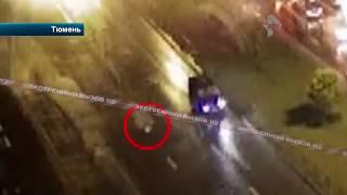Видео наезда Гелендвагена на пешехода. Жесть!