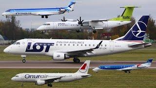 FullHD 10 Minutes of Planespotting  Tallinn Airport