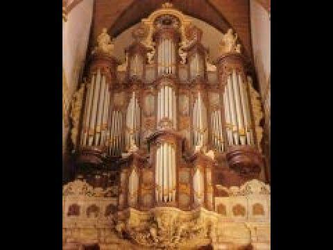 Feike Asma speelt Basso ostinato van Handel orgel Oude Kerk Amsterdam