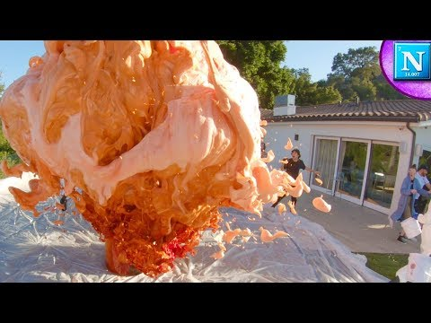 World Record Elephant Toothpaste w/ David Dobrik !!