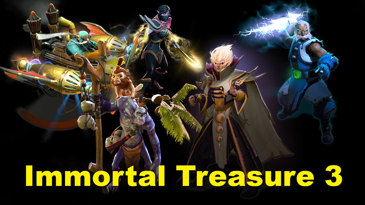 Dota 2 S Immortal Treasure 3 Launches: Immortal Treasure 3