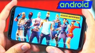 So is Fortnite Android on the Samsung Galaxy s9 plus (Real Gameplay)