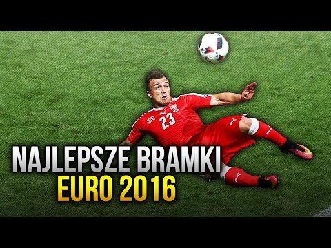 NAJLEPSZE BRAMKI - EURO 2016!