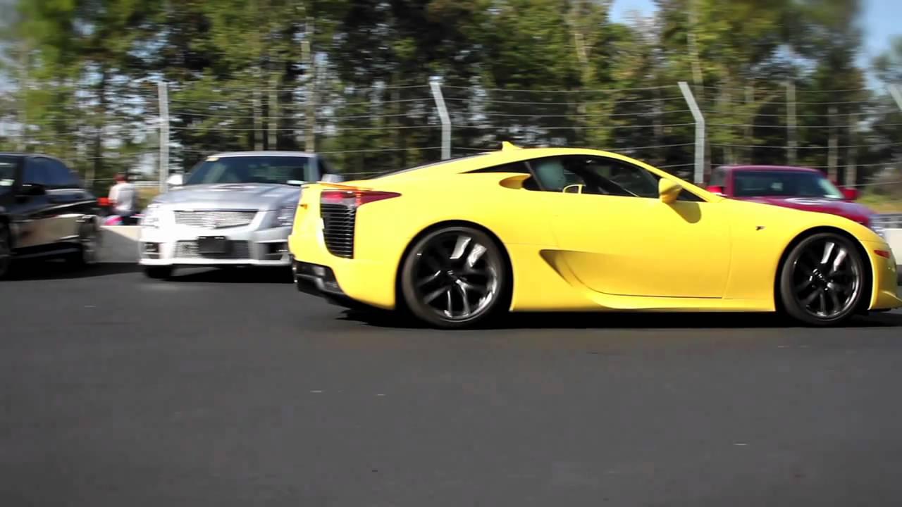 Lexus Lfa Motor