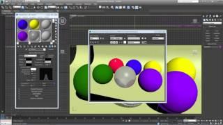 3D Max. Урок №26. Материал Raytrace.