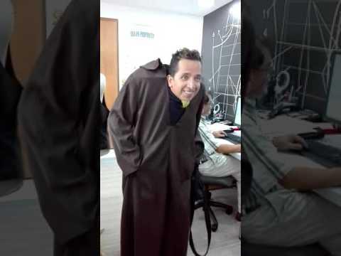 Disfraz De Monje Sin Cabeza Youtube - Disfraces-sin-cabeza