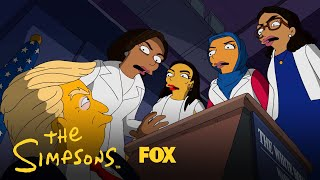 West Wing Story | THE SIMPSONS