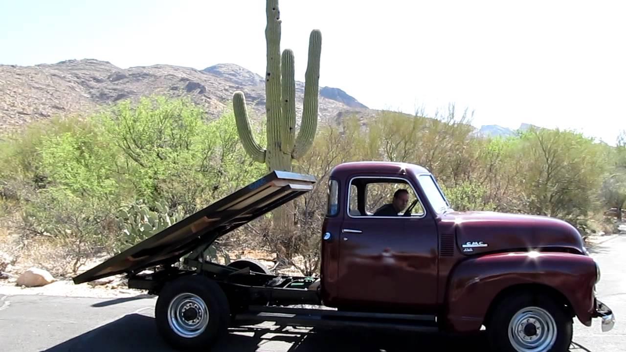 1949 Gmc Dump Truck Youtube Ford