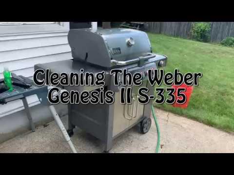 Super Fast Weber Grill Clean S 335  Genesis II
