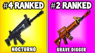 TOP 5 BEST WEAPONS IN FORTNITE SAVE THE WORLD (Ranking The Best Save The World Guns)