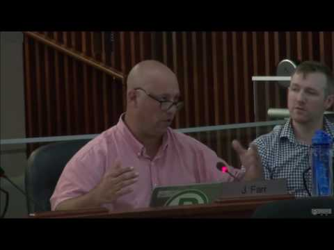 Dr. Davey Parent Council Delegation to Hamilton City Council on Hydro Station - August 8, 2016