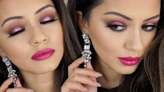 AFFORDABLE GLITTER CHRISTMAS PARTY MAKEUP LOOK AD