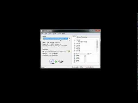 How to use DVD Decrypter