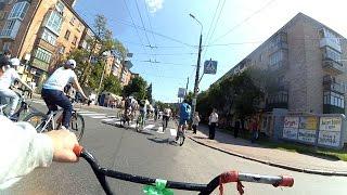 Велодень Чернигов 2016(Видео отчет с самого масштабного велопробега