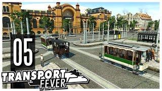 Transport Fever - S2 Ep.05 : Logistics Hub & New Trams!