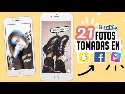 21 IDEAS PARA FOTOS TUMBLR  en Snapchat, Facebook, picsart, Snow y afterlight