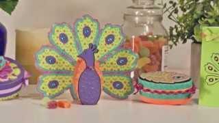 Peacock Palace 3D SVG Kit By Fleurette Bloom