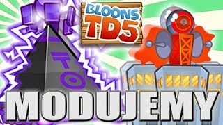 NOWE MAŁPKI | NOWE MAPY || #78 || Bloons TD5 Expansion | PL