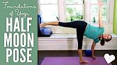 Half Moon Pose - Foundations of Yoga