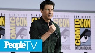 Tom Cruise Surprises Fans At Comic-Con & Debuts The First Trailer For 'Top Gun: Maverick' | PeopleTV