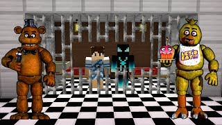 A PRISÃO DOS ANIMATRONICS NO MINECRAFT!! (FIVE NIGHTS AT FREDDY'S)