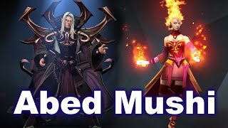 Abed Invoker vs Mushi Lina - Top1 SEA Dota 2