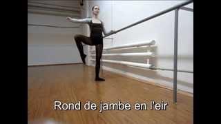 Классический танец. Экзерсис у станка (2-ая часть) Body-ballet Боди-балет