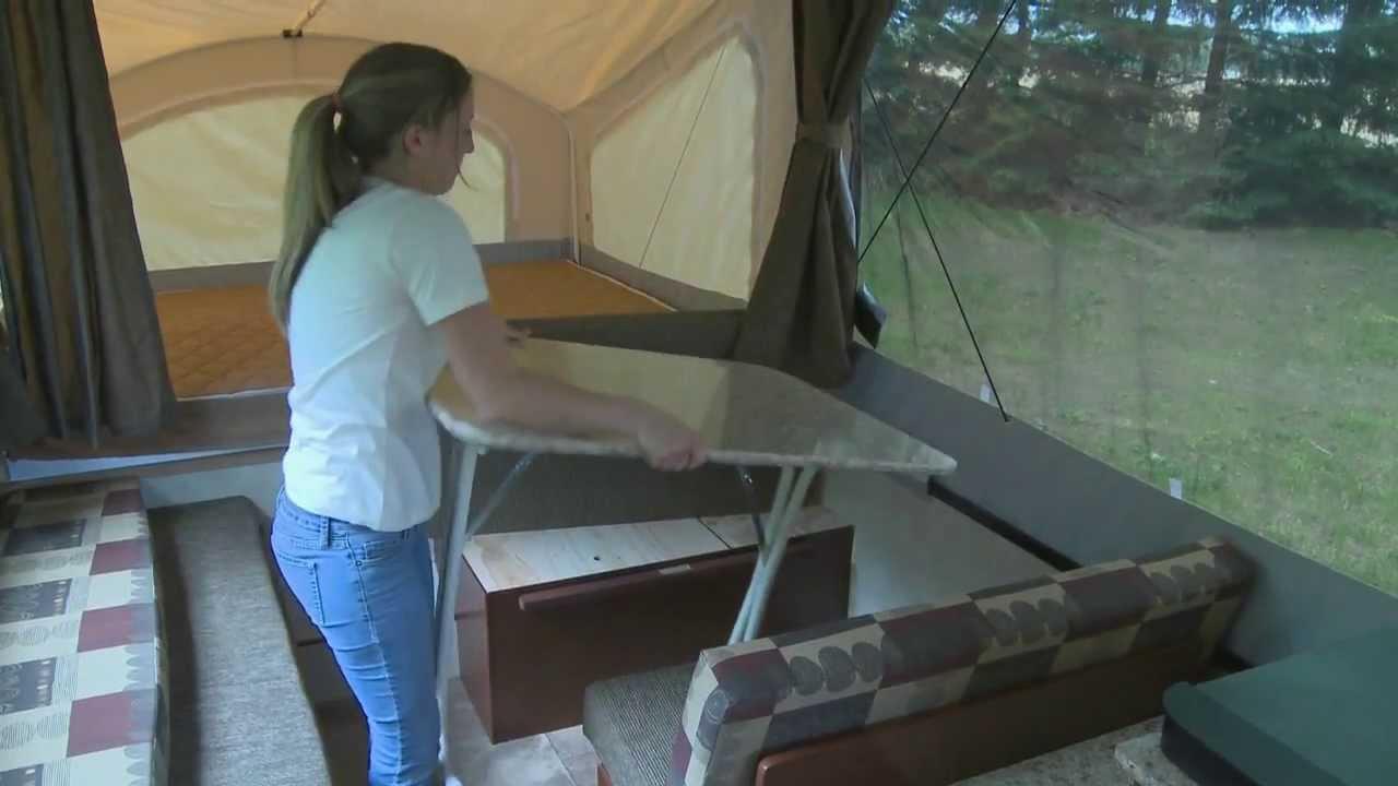 Coleman Camper Wiring Diagram Viking Camping Trailer Setup Video Youtube