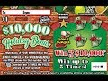"""$1 HOLIDAY BONUS Fan-Mail Ticket WIN! from Barbara at the """"SCRATCHING FLORIDA LOTTO""""!!"""