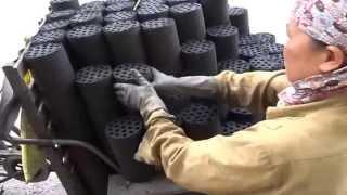 Repeat youtube video ถ่านอัดแท่ง vietnam charcoal