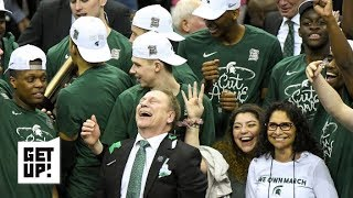 Michigan State's mental toughness key to Final Four berth - Tom Izzo | Get Up!