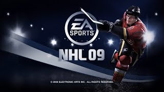 Hockey Game History - NHL 09 (Xbox 360)