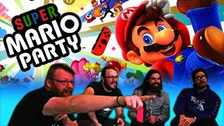 BLIND WAVE PLAYS: Super Mario Party!! Who Stabs Who in the Back?!