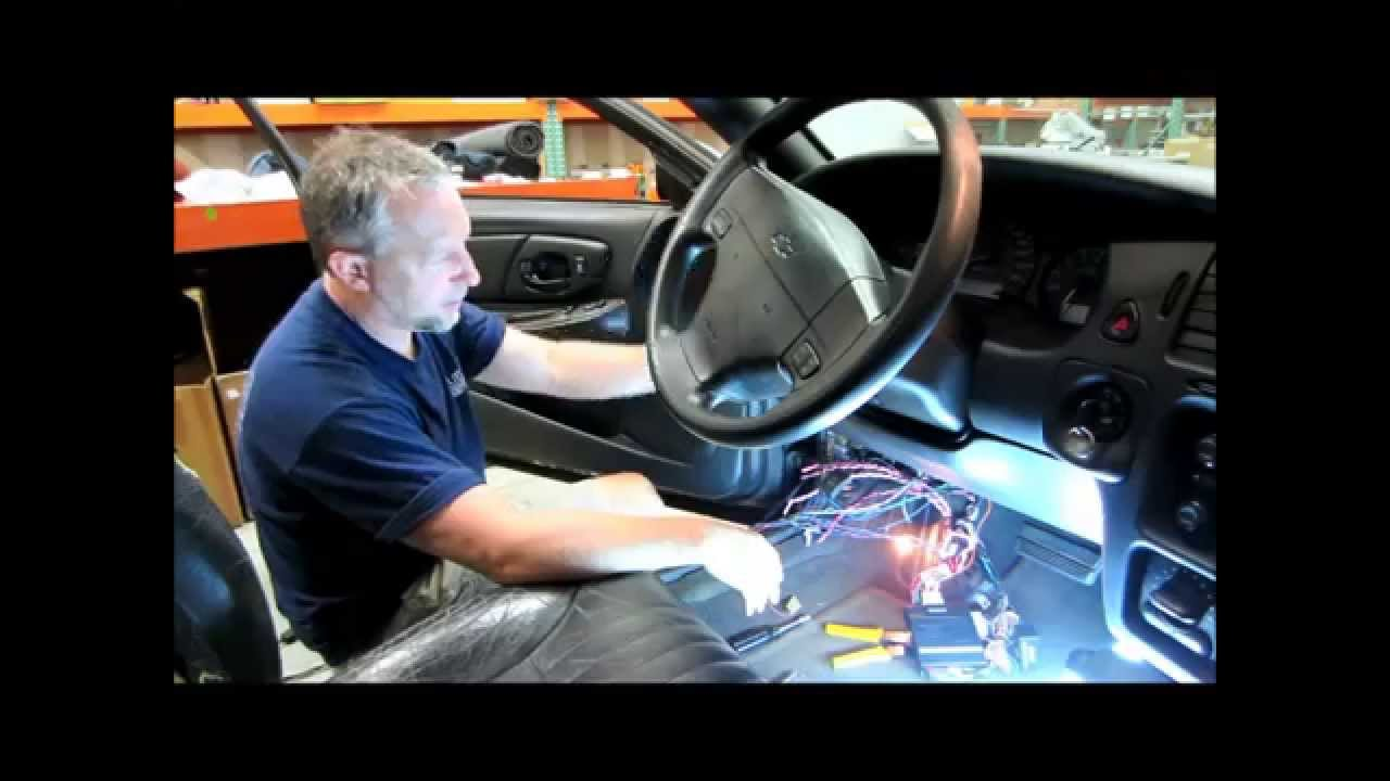 Chevy Wiring Harness Diagram Venn Of The Number System Part 15 Start To Finish Alarm Remote Installation In 2004 - Youtube