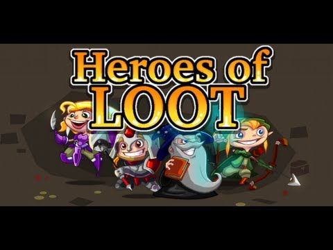 Heroes of Loot - Official release trailer
