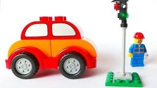 Светофор в городе Лего. Развивающий мультфильм о правилах дорожного движения