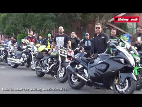 A shoot of Group Of Delhi Superbikers (G.O.D.S) at DND Noida | BikingTech