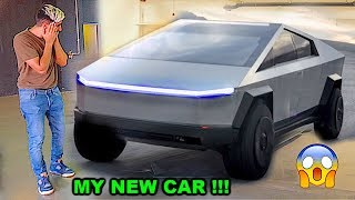 I BOUGHT THE NEW TESLA CYBERTRUCK  !!!