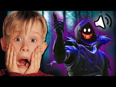 CREEPY DEMON TRIES TO SCARE KID! *VOICE TROLLING!* | Fortnite Battle Royale