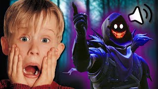 CREEPY DEMON VOICE TROLLING ON FORTNITE!